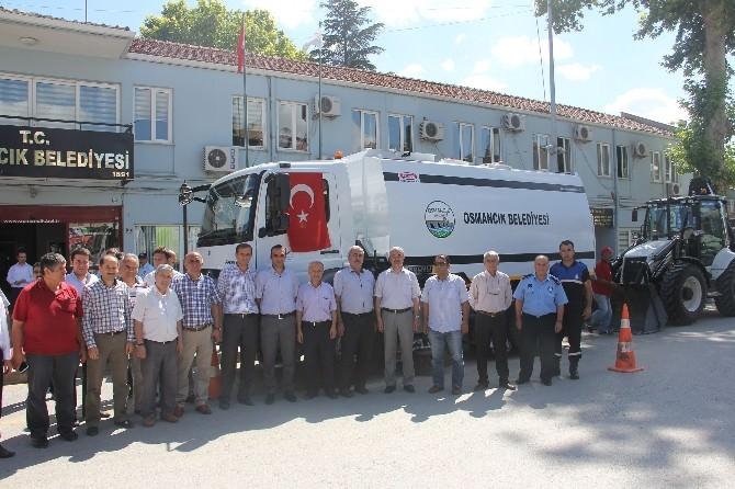 Osmancık Belediyesi Araç Parkını Güçlendirdi