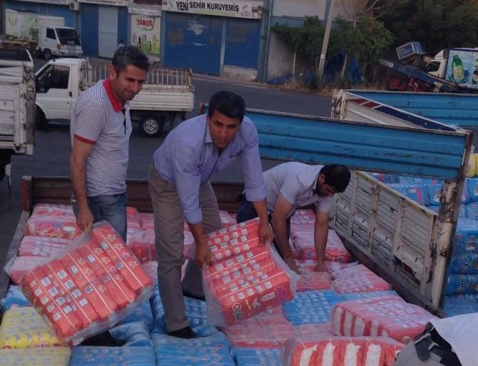 Siirt'ten Kobani'ye Yardım