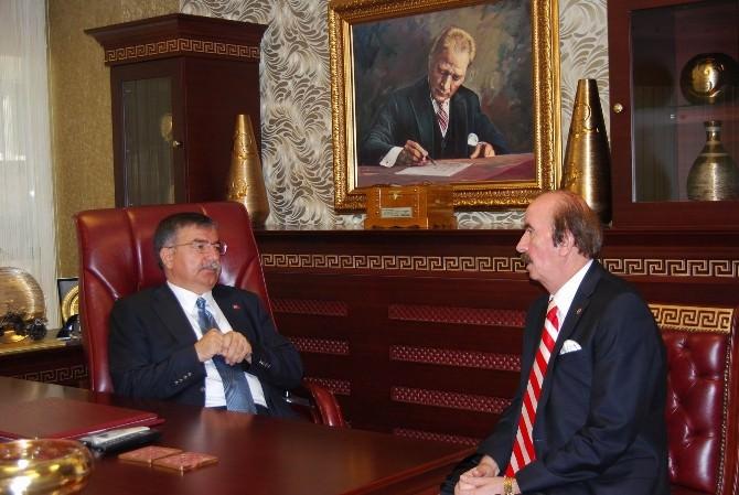 Başkan Demirgil'den TBMM Başkanı Yılmaz'a Tebrik Mesajı