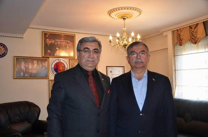 STB Başkanı Hastaoğlu, Meclis Başkanı Yılmaz'ı Kutladı