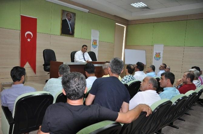 Başkan Can, Fırıncılarla Toplantı Yaptı
