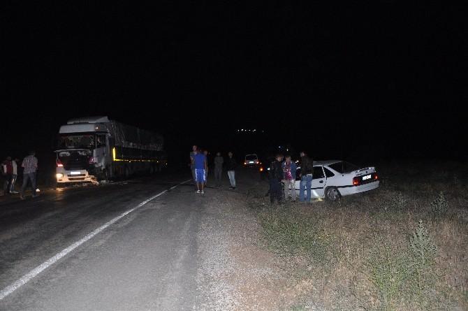 Tunceli'de Trafik Kazası: 1 Yaralı
