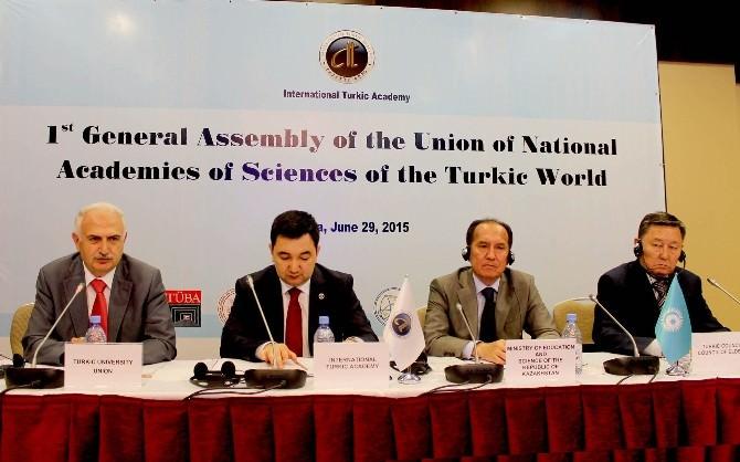 Türk Dünyası Bilimler Akademileri Birliği Kuruldu
