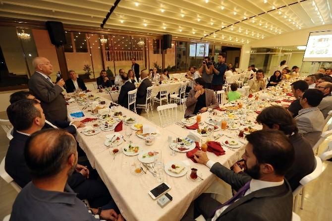 Başkan Yaşar, Basın Mensuplarıyla İftarda Buluştu