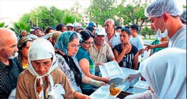 YÖRSİAD'dan her gün 550 kişiye iftar