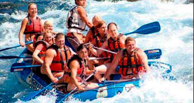 Rafting botları bayramı bekliyor