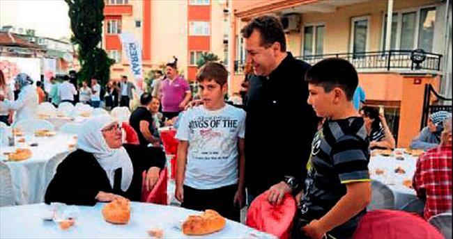 Ramazan şenlikleri çocukları mutlu etti