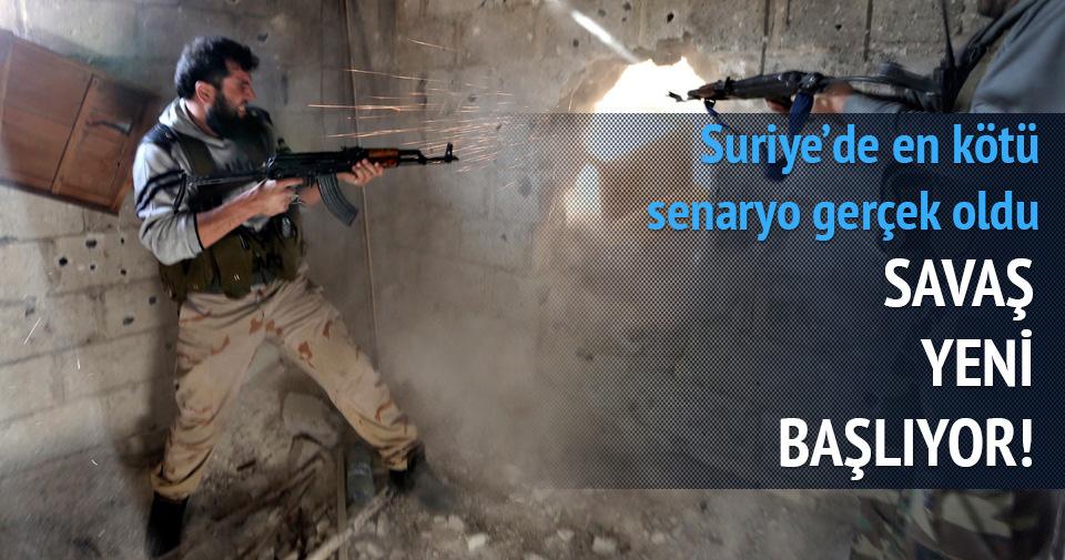 Suriye'de savaş yeni başlıyor