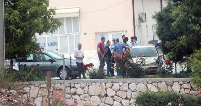 Kavga eden polisler ekipleri seferber etti