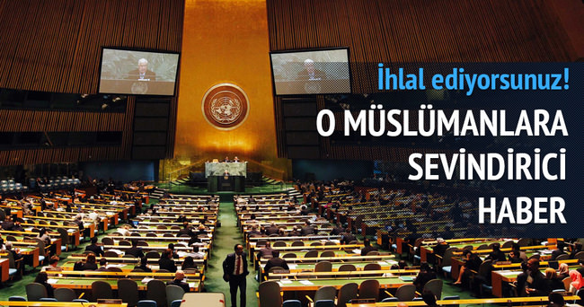 BM'de Myanmar karar tasarısı kabul edildi