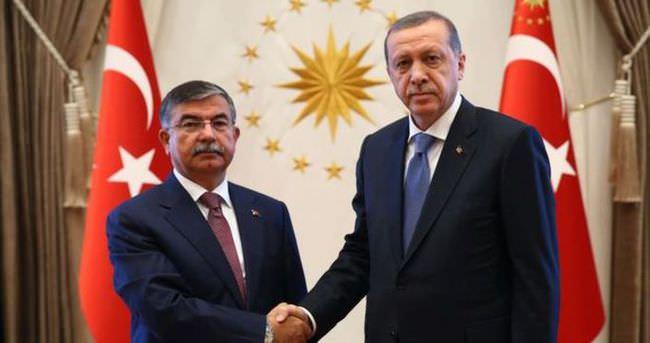 Erdoğan İsmet Yılmaz'ı kabul etti