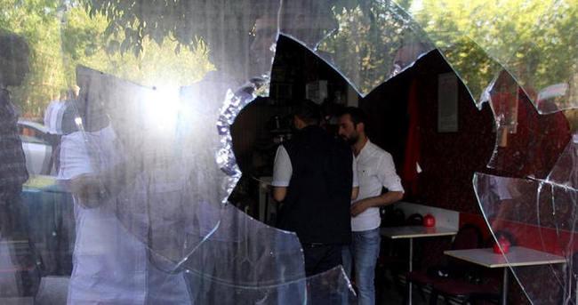 Erzurum'da kahvehaneye saldırı