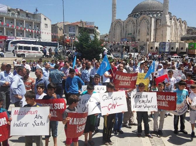 Develililer Doğu Türkistanlılar'a Destek Verdi