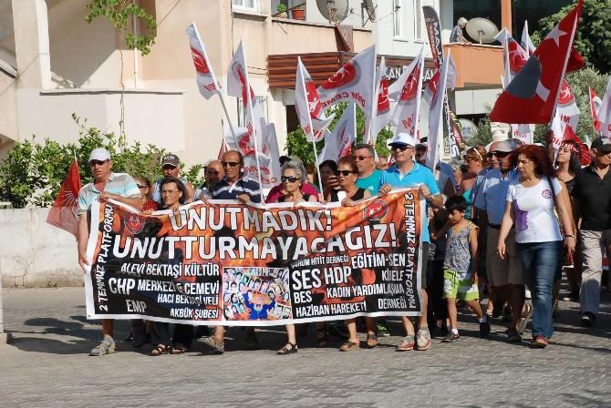 Didim 2 Temmuz Platformu Sivas'ı Unutmadı