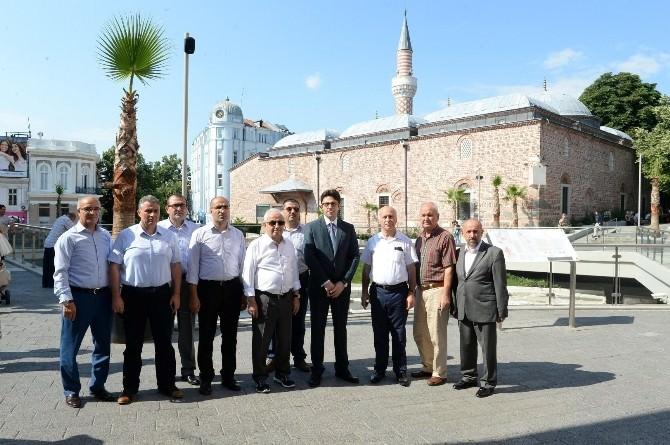 Edirne Valisi Şahin Bulgaristan'da