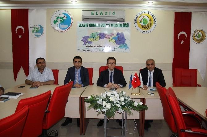 Elazığ'da Orman Yangınları İle Mücadele Protokolü İmzalandı