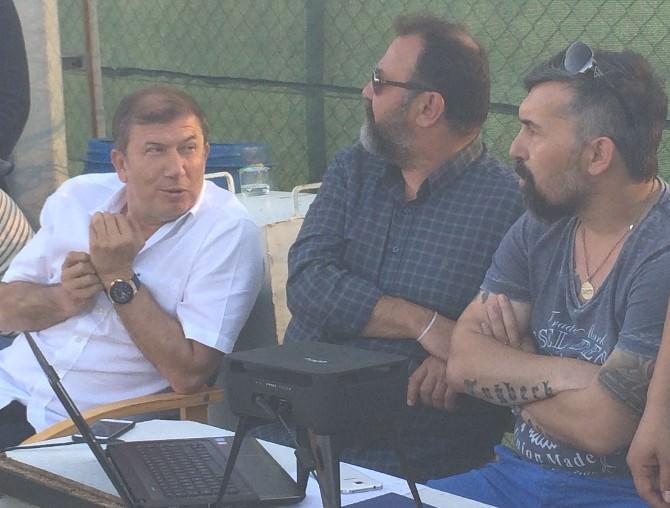 Tanju Çolak'tan Çanakkale Dardanelspor'a Ziyaret
