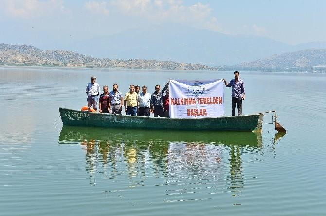 İzmir Büyükşehir'den Beydağ Barajı Su Ürünleri Kooperatifine Hayati Destek