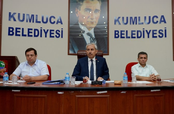 Kumluca Belediye Meclisi Olağan Toplantısı Yapıldı