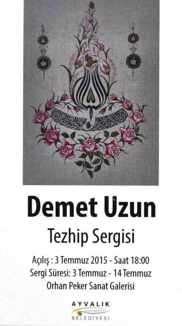 Ayvalık'ta Geleneksel Türk Süsleme Sanatına Sergi Açılacak