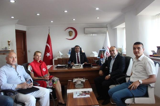 Türk Kızılayı Varna Şubesinden Eskişehir Şubesine Ziyaret