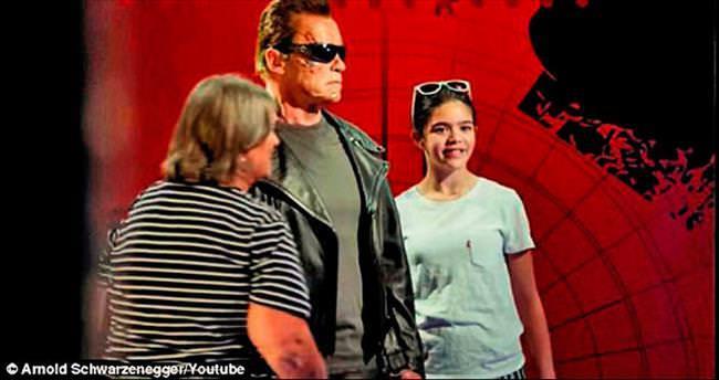 Terminator'den hayranlarına eğlenceli şaka!