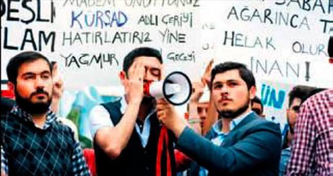 AK Gençlik'ten Çin protestosu