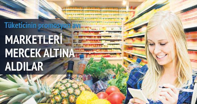 Tüketici markette promosyon avında