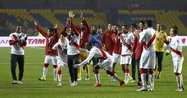 Copa America'da 3.'lük Peru'nun