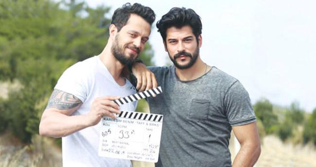 Murat Boz ve Burak Özçivit'in ilk sahneleri çekildi