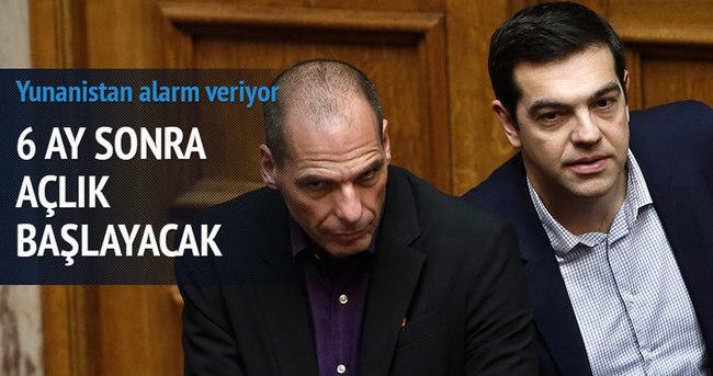 Yunanistan'ın 6 aylık yakıtı, 4 aylık ilacı kaldı