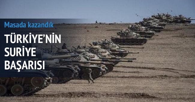 Türkiye, Suriye'deki savaşı masada kazandı