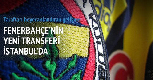 F.Bahçe'nin yeni transferleri İstanbul'da!