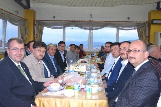 AK Parti Bilecik İl Teşkilatı İftar Yemeğinde Buluştu