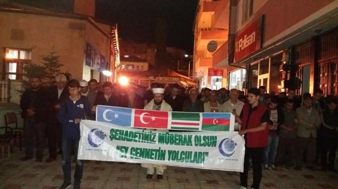 Bayburt'ta Çin Yönetimine Tepki