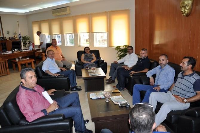 Didim Ticaret Odası'ndan Başkan Atabay'a Taziye Ziyareti
