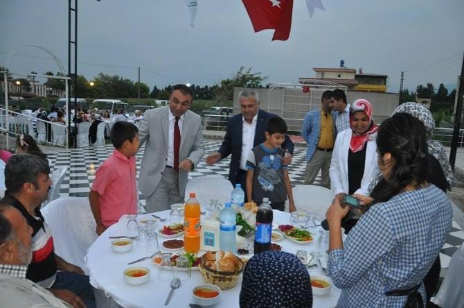 Kaymakam Soytürk, Şehit Aileleri Ve Gazilere İftar Verdi