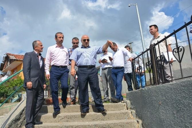 İzmit Belediyesi Mahalleleri Boş Bırakmıyor