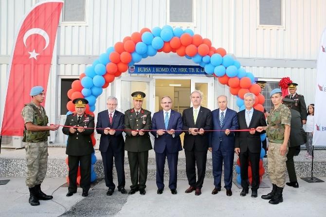Komandolar Yeni Hizmet Binasına Kavuştu