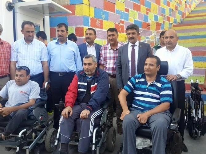 Engelli Vatandaslara Şarj Dolum Hizmeti