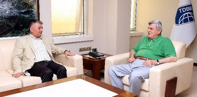 Rize Valisi Yazıcı'dan, Büyükşehir'e Ziyaret