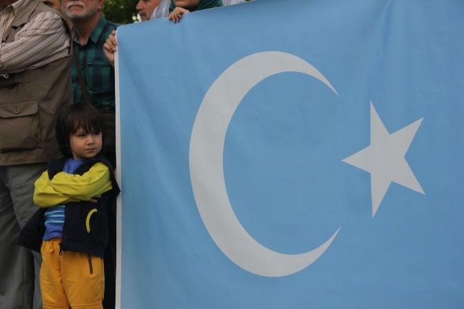 Sinop'ta Doğu Türkistan'da Yaşanan Zulüm Protesto Edildi