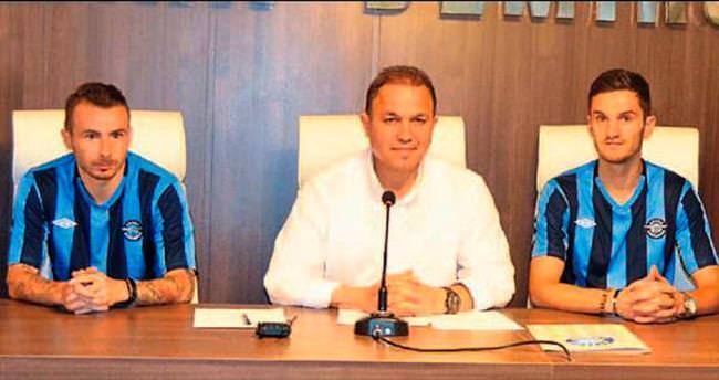 Daniel ve Victor Demirspor'a imza attı