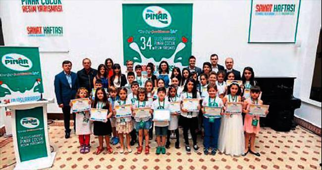Pınar'ın yarışmasında ödüller dağıtıldı