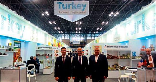 Türk gıda ürünleri ABD'de sergileniyor