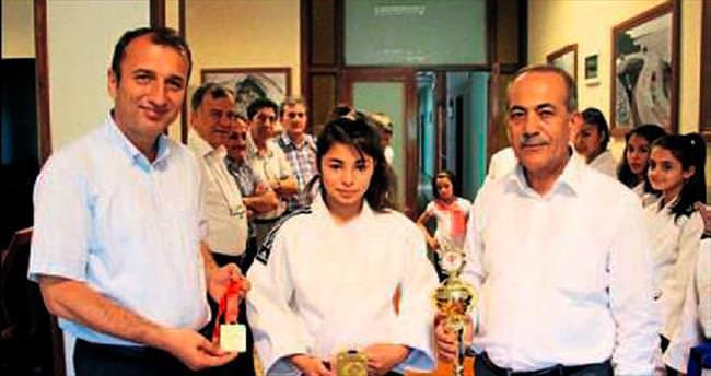 Antalya'nın altın kızı
