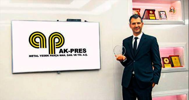 Kalite Ödülü Ak Pres Otomotiv'in