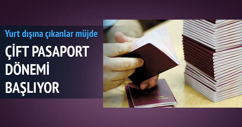 Çifte pasaport dönemi başlıyor
