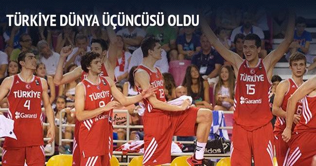 U19'lar dünya üçüncüsü