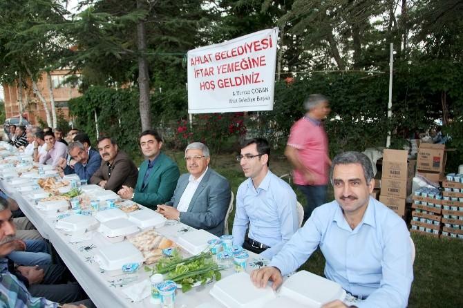 Ahlat Belediyesi'nden İftar Yemeği